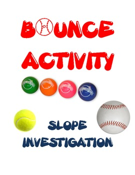 Slope Investigation Fun Activity / Experiment  Algebra Graphing Linear Equations