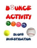 Slope Investigation Fun Activity / Experiment  Algebra Gra