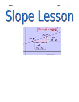 Slope Lesson