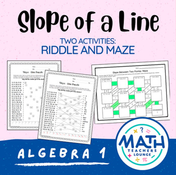 Slope: Line Puzzle Activity
