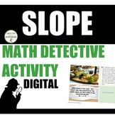 Slope Math Detective Digital Activity