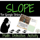 Slope Math Detective Digital Activity