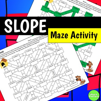Slope Maze Activity