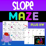 Slope Maze Activity plus HW