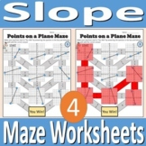 Slope Maze Worksheets