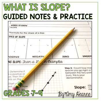 Slope Notes and Practice