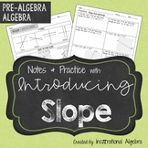 Slope: Notes and Practice