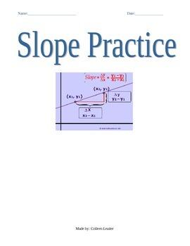 Slope Practice