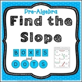 Find the Slope Review Activity Pre-Algebra Game