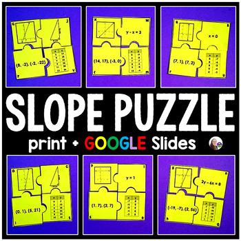 Slope Puzzle Activity