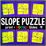 Finding Slope Puzzle - print and digital
