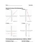 Slope Quiz