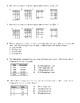 Slope/Rate of Change Multiple Choice Worksheet