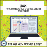 Slope Rise Over Run for use with Google Slides™