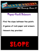 Finding the Slope from Two Points Rock Paper and Scissors