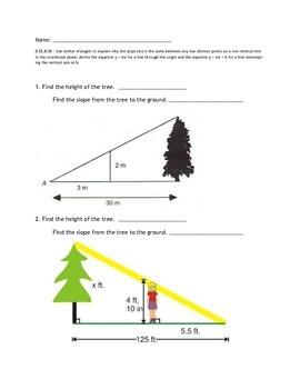 Slope Similar Triangles