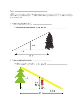Slope Similar Triangles