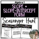 Slope & Slope- Intercept Form (Scavenger Hunt)