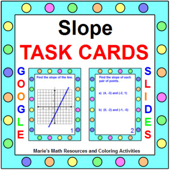 Slope - TASK Cards (20 Cards)
