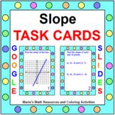 """SLOPE TASK CARDS:  """"GOOGLE SLIDES"""", SMARTBOARD, POWERPOINT"""