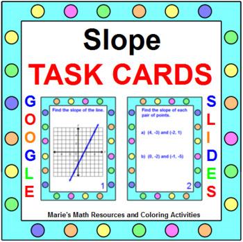 Slope - TASK Cards (20 Cards)
