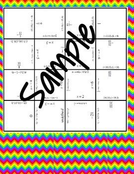 Slope Tarsia Puzzle