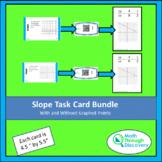Algebra 1 - Slope Task Card Bundle