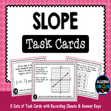 Slope Task Cards Task Cards