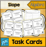 Slope Task Cards With and Without QR Codes