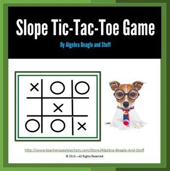 Slope Tic Tac Toe Game