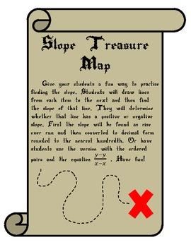 Slope Treasure Map