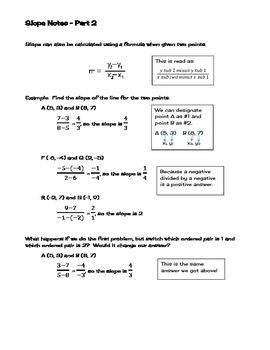 Slope - Understanding & Calculating