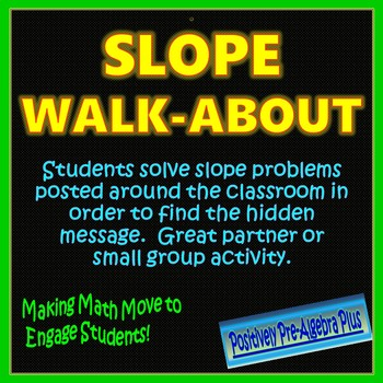 Slope Walk-About Activity