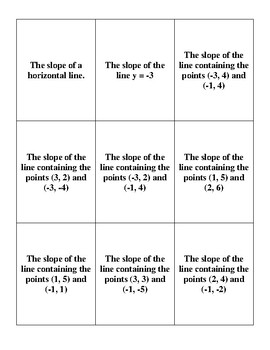 Slope War Cards