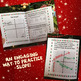 Christmas Slope of Lines Writing Activity