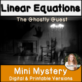 Slope & Y Intercept Halloween Activity! Linear Equations Mystery