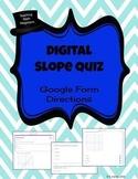 Slope, Y-intercept and Slope Intercept Form-Digital Google
