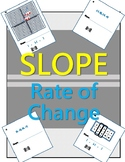 Slope - Constant Rate of Change (Tables, Graphs, Two Points)