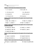 Slope and Equations of Lines