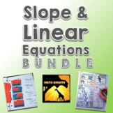 Slope and Graphing Linear Equations Bundle