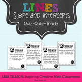 Slope and Intercepts of Lines Quiz Quiz Trade Activity