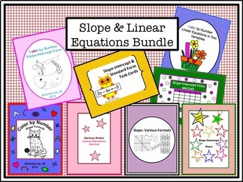 Slope and Linear Equations Bundle