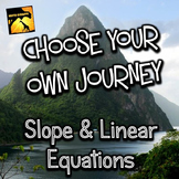 "Slope and Linear Equations: ""Choose Your Own Journey"" Book"