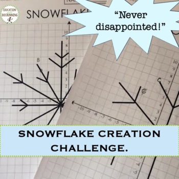 Slope and Linear Equations Snowflake Project UPDATED