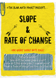 Slope and Rate of Change Notes