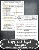 Slope and Right Triangles INB TEKS 8.4A