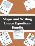 Slope and Writing Linear Equations Bundle