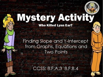 Slope and Y-Intercept - Mystery Activity