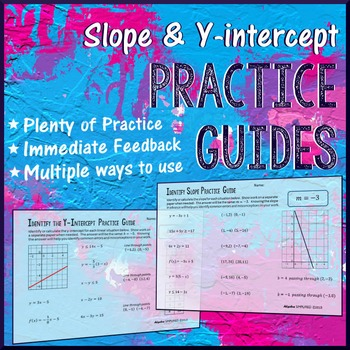 Identifying Slope And Y-intercept Worksheet Teaching Resources ...