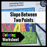 Slope Between Two Points Color By Number
